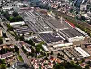 Описание: Завод ZF во Фридрихсхафене