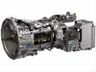 Описание: КПП ZF AS-Tronic с интардером (разрез)